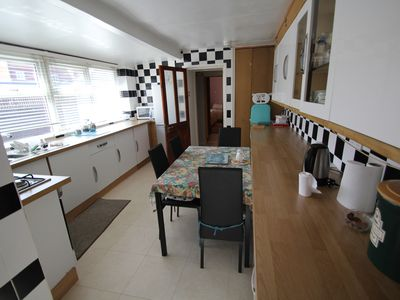 Photo for Ground Floor Holiday Apartment 2. Sleeps Three, Close to Beach & Town Centre