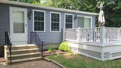 Photo for 3/10 mile to Beach & Town! Updated House w/quiet, private yard for relaxing!