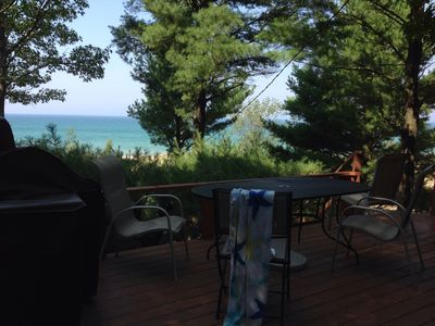 Photo for Spacious Lake Michigan Lakefront Cottage
