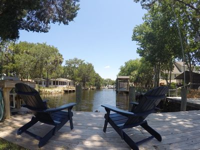 Photo for Homosassa Waterfront with boat dock deep-water canal