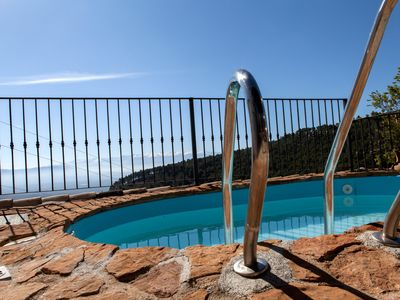 Photo for House with private pool, stunning views