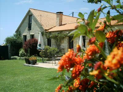 Photo for HOUSE TWO LARANXOS, TRADITIONAL VACATIONAL HOUSE, RESTORED IN SANXENXO 6 + 2 PAX