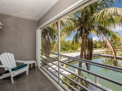 Photo for Marathon Keys 2 BR Condo w/ Canal View, Dock & Pool