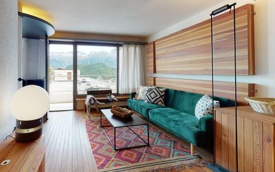 Photo for Very attractive and cozy apartment in the middle of St. Moritz village