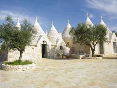 Photo for Trulli Itria Tramonti - Ancient Trullo