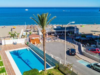 Photo for Apartment 1.3 km from the center of Torremolinos with Pool, Garden, Balcony, Washing machine (983356)