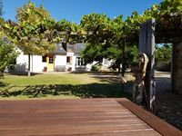 Good accomodation for three couples to explore the central Loire Valley.