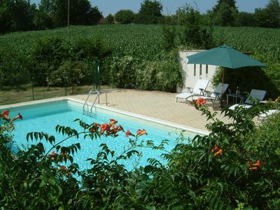 Photo for Luxury One Storey Villa With Private Pool In Small Hamlet Near To Jumilhac Le Gr