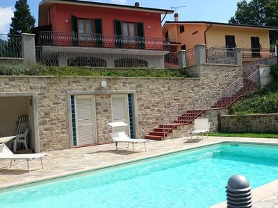 Photo for San Martino In Freddana: VILLA JASMINE MODERN HOUSE WITH GARDEN AND SWIMMING POOL