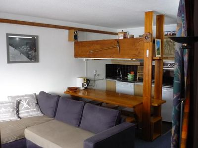 Photo for Apartment (4-5 seats) facing south to the slopes (La Daille)