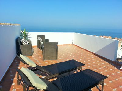 Photo for Penthouse In Duquesa With Stunning Sea And Panoramic Views