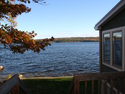 Photo for Immaculate Cottage Right On Beautiful Panther Pond