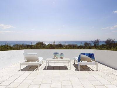 Photo for Exclusive beachfront villa with sea view ★Gallipoli★