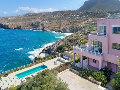 Photo for Luxury 4Bedroom Villa with Delicate Interior, Private Pool and Amazing Sea Views