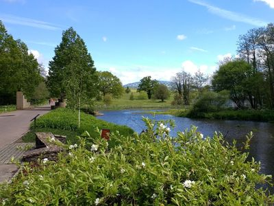 Take a trip to the fabulous Botanic Gardens of Wales which is only a short drive