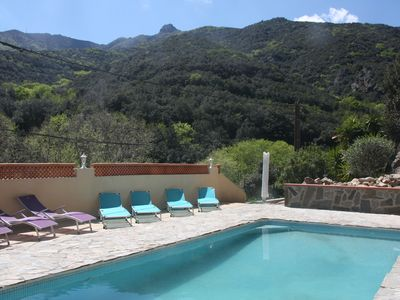 Photo for Villa with pool and stunning views in quiet area and near beaches