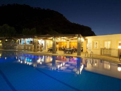 Photo for One bedroom Apartment, sleeps 4 in Malia with Pool, Air Con and WiFi