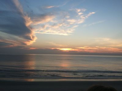 Watch Sun rising up over the beautiful Atlantic Ocean from the walkover.