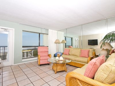 Photo for Saida I 505 - Elegant Oceanfront Condo, Private Balcony, Direct Beach Access, Pools, Hot Tubs, Tennis Courts