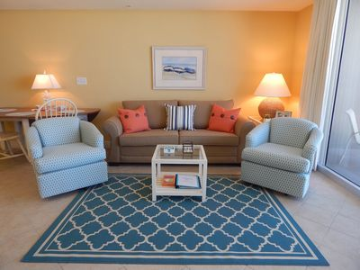Photo for Amazing Views | 4th Floor Beachfront Condo | Tidewater 411 | 2BR 3BA + Bunks