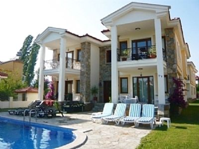Photo for 1st Floor Apartment with Air Con in Dalyan, South Facing Pool & Garden.