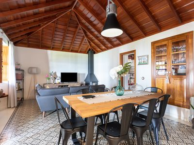 Photo for Beautiful design house in Los Sauces, with barbecue and garden