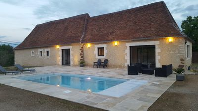 Photo for Stone house with private pool