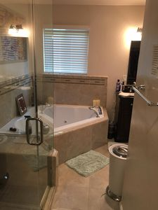 Photo for Luxurious Master Bedroom w/ Private Bath jetted tub in Palo Alto / Mtn View!!