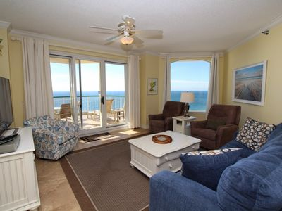 Photo for Beach Colony West Penthouse 18C- Beach Front unit with large terrace!
