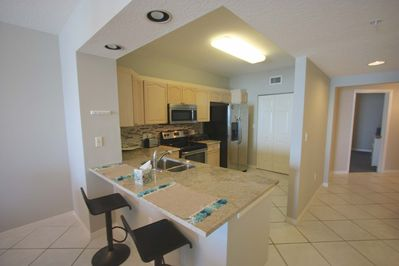 Beautiful Updated Fully Equipped Kitchen for Meals Large and Small-Breakfast Bar with Seating for 2