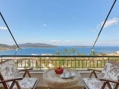 Photo for Marmari View. A two-storey house with amazing view