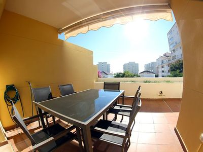 Photo for Ideal location near the Marina and the beaches. South facing terrasse