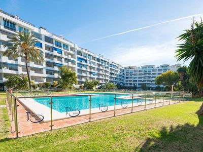 Photo for Central Puerto Banús 2BD Apt with Sunny Terrace ✔