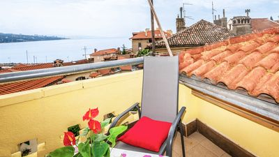 Photo for Apartment Sonja with amazing sea view only 50m from the sea