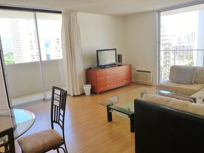 Photo for Located in the heart of Waikiki w/free parking & W/D in the unit