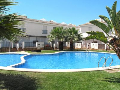Photo for 2 Bed house with 3 terraces incl roof terrace in  Alcossebre very close to beach