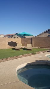 Photo for Beautiful Desert Vacation Home. Heated Pool/Spa. 6 miles from Stadium