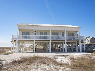 Photo for 8 BR~ Pool/Beach Access ~ 2 Kitchens/Living Rooms Gulf Views ~ Sandy Feat Beach House ~ Sleeps 16
