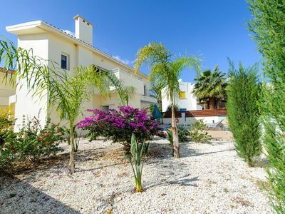 Photo for Villa Dafnis Helios - Lovely 3 Bedroom Protaras Villa with Pool - Close to Fig Tree Bay Beach