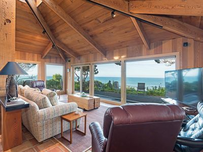 Photo for Oceanfront escape w/ panoramic cliff side views on the bluffs, private estate