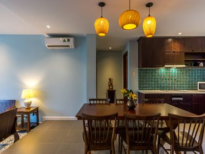 Photo for 145sqm Indochine-styled 3-bedroom Apartment in the heart of Dist 1, HCMC