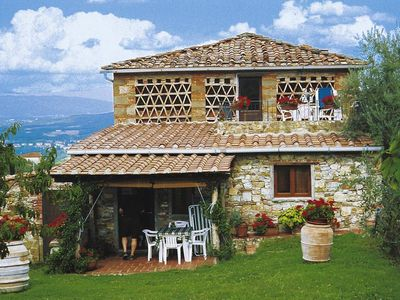 Photo for Holiday residence Casa Peschiera, San Leolino di Bucine  in Um Siena - 4 persons, 2 bedrooms