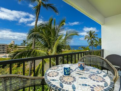 Photo for New Listing! Ideal Location in S. Maui w/ Ocean Views! Kihei Akahi C612
