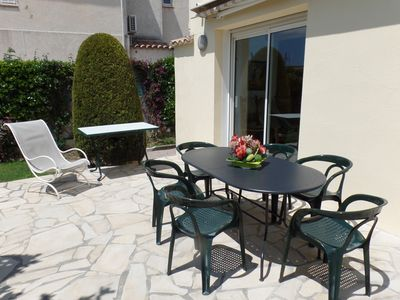 Photo for INDIVIDUAL HOUSE IN JUAN LES PINS - COTE D'AZUR - 56 person.