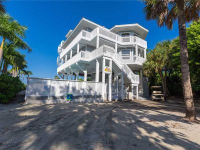 Photo for SPARKING 4 BEDROOM BEACHFRONT HOME ON NORTH CAPTIVA WITH PRIVATE POOL AND SPA!!!