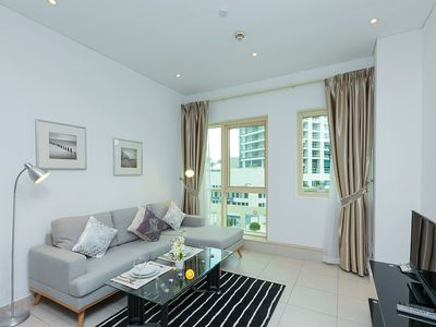 Photo for 1 BR with Pool View in Dubai Marina