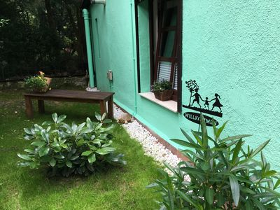 Photo for Idyllic holiday cottage Waldblick hut, quietly located on the Püttbergen!