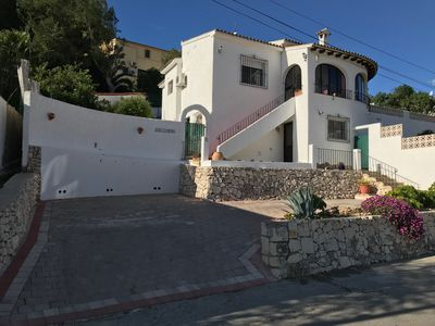 Photo for Casita in Moraira with private pool, great views, wifi, UK TV, parking.