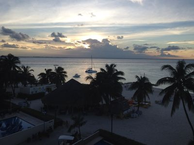 Photo for White Sand Beach, Turquoise Water, And Breathtaking Sunsets - Ixchel I 407/408