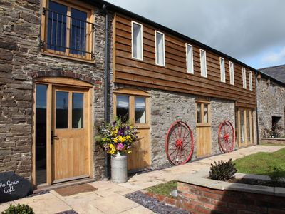 Photo for The Grain Loft is a beautifully restored and unique barn conversion